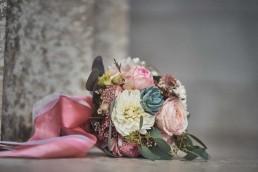 Hochzeitsstrauß von Ganz Unverblümt in Rosa und Weiß Straubing