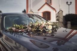 Autoschmuck mit Eukalyptus von Ganz Unverblümt