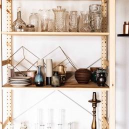 Vasen und Dekoelemente für individuelle Hochzeitsdeko bei Ganz Unverblümt in Straubing