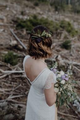 Blumenschmuck für die Braut von Meisterfloristin von Ganz Unverblümt Straubing