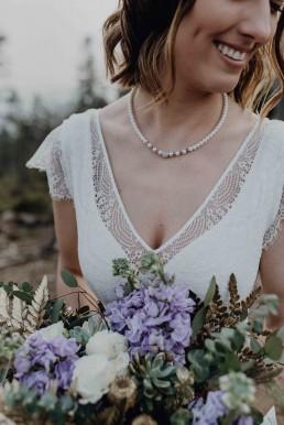 Duftende Levkojen im Brautstrauß von Ganz Unverblümt Bayrischer Wald