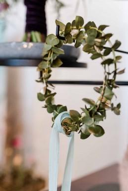 Eukalyptuskranz von Ganz Unverblümt Florist Straubing Deggendorf