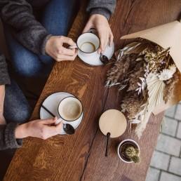 Hochzeitsanfrage und Treffen mit Floristin Ganz Unverblümt bei einem Kaffee im Studio10