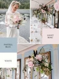 Individuelles Moodboard für Hochzeitsblumenschmuck von Ganz Unverblümt Straubing