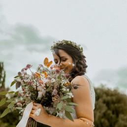 Herbstlicher Boho-Brautstrauß von Ganz Unverblümt Niederbayern