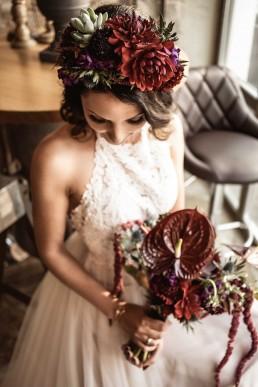 Hochzeitsfloristik in exotischer Blumenauswahl von Ganz Unverblümt Bayrischer Wald